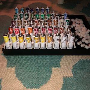 Oil Color Paints by Battat: Set of 47